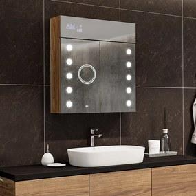 Armário com espelho e com iluminação LED L06