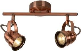 Lucide 77974/10/17 - Foco LED CIGAL 2xGU10/5W/230V cobre
