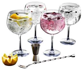 Conjunto 6 peças gin LUMINARC FIESTA