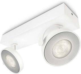 Philips 53172/31/16 - Foco LED MYLIVING CLOCKWORK 2xLED/4W/230V