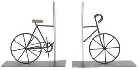 Boekensteun DKD Home Decor Bicicleta Ferro (2 pcs) (20 x 12 x 20 cm)