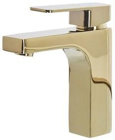 Torneira para lavatório dourada IRUPU