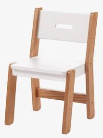 Cadeira especial infantário, assento 30 cm, LINHA ARCHITEKT branco claro bicolor/multicolo
