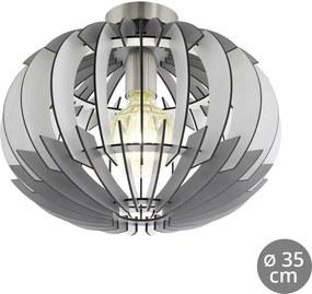 Eglo 96971 - Luz de teto OLMERO 1xE27/60W/230V
