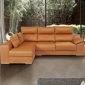 Sofá com Assentos Deslizantes | Berlin - Chaise Longue c/ Arrumação » L 240 cm