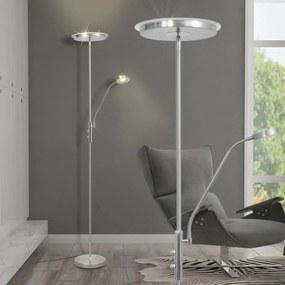 242734 vidaXL Luminária de piso regulável com LED 23W