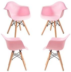 Pack 4 Cadeiras Dau Kid (Infantil)