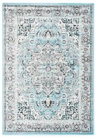 134104 vidaXL Tapete 120x170 cm PP azul-claro