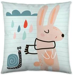 Capa de travesseiro Naturals Hello (50 x 50 cm)