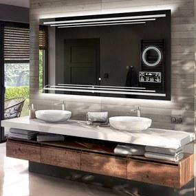 Espelho para Banheiro com Iluminação LED L75  x=50 x   y=50 cm