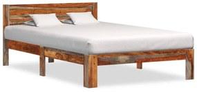288420 vidaXL Estrutura de cama 120x200 cm madeira de sheesham maciça