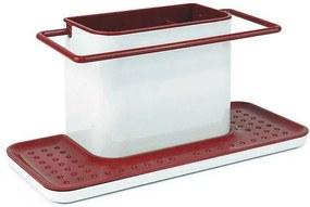 Organizador Multiusos Confortime Branco Vermelho (30,5 x 13 x 14,2 cm)