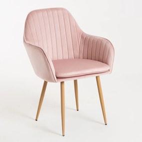 Cadeira Norbana Cor: Rosa
