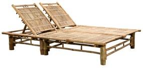 43715 vidaXL Espreguiçadeira para 2 pessoas bambu