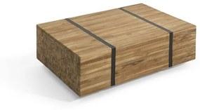 Mesa de centro em madeira de teca GANDER