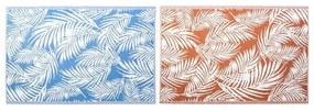 Tapete DKD Home Decor Tropical Polipropileno (2 pcs) (150 x 210 cm)
