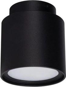Kanlux 24362 - Foco de teto LED SONOR 1xGU10/10W/230V + LED/4W preto