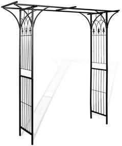 40778 vidaXL Arco de jardim 200x52x204 cm