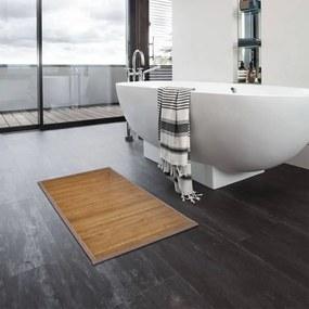 278781 vidaXL Tapetes de casa de banho 2 pcs 60x90 cm bambu castanho