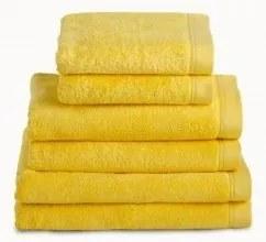 Toalhas banho 100% algodão penteado 580 gr.  cor amarelo: 1 Toalha 70x140 cm - 1 toalha 50x100 cm -  1 toalha 30x50 cm - 1 luva turco 15x21 cm