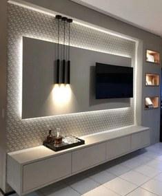 Painel TV com Iluminação LED 2000x1200