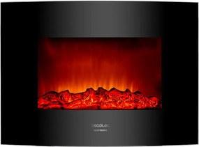 Lareira Elétrica Decorativa de Parede Cecotec Ready Warm 2200 Curved Flames