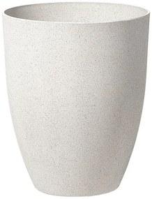 Vaso para plantas 43 x 43 x 52 cm branco nata CROTON