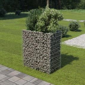 Gabião para plantas em aço galvanizado 90x50x100 cm