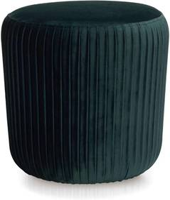 Puff Verde Ø40x40cm