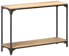 320259 vidaXL Mesa consola 110x30x75 cm madeira de mangueira maciça