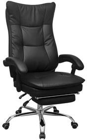 Cadeira Escritório Executiva Reciclável com Apoio Braços Preto