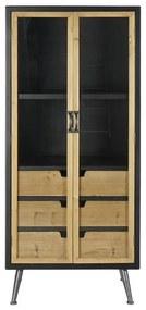 Suporte Expositor DKD Home Decor Cristal Abeto (60 x 40 x 136 cm)