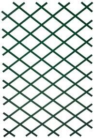 276936 Nature Treliças de jardim 2 pcs 100x200 cm PVC verde
