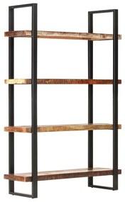 321064 vidaXL Estante c/ 4 prateleiras 120x40x180cm madeira recuperada maciça