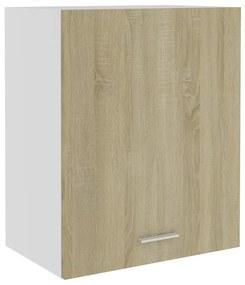 801263 vidaXL Armário de parede 50x31x60 cm contraplacado cor carvalho