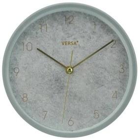Relógio-Despertador Cinzento Plástico (4,5 x 16,2 cm)