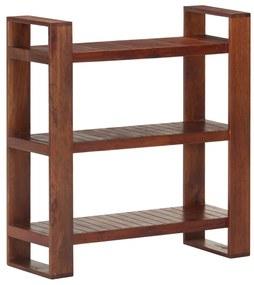 321820 vidaXL Estante 84x30x90 cm madeira de acácia maciça castanho mel