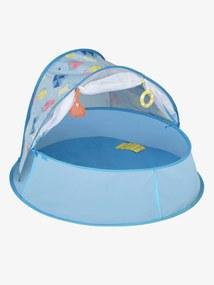 Tenda anti-UV pop-up Aquani da BABYMOOV azul claro liso com motivo