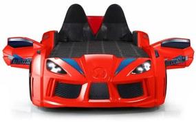 Cama de criança carro infantil MVN3 - VERMELHO (XT 710486 V)