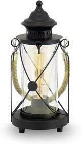 Eglo 49283 - Lâmpada de mesa BRADFORD 1xE27/60W/230V