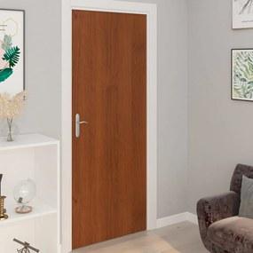 Autocolante para porta 2 pcs 210x90 cm PVC cor carvalho claro