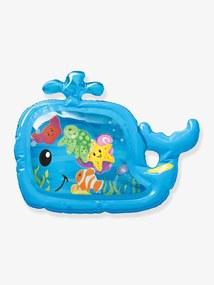 Tapete sensorial com água, INFANTINO azul vivo liso