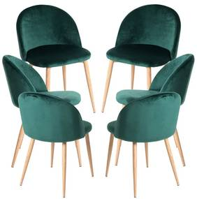 Pack 6 Cadeiras Vint Veludo