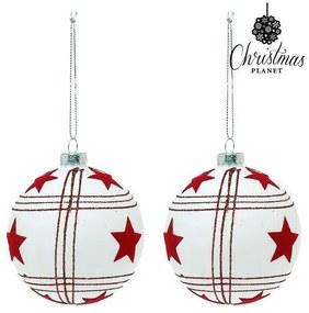 Bolas de Natal 8 cm (2 uds)