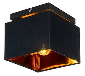 Candeeiro de teto moderno preto ouro - VT 1 Moderno