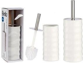 Escova do Banho Branco (10,5 x 34 x 11,5 cm)