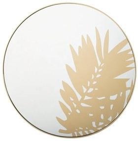 Espelho de parede ø 56 cm dourado ADONARA