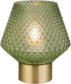 Searchlight EU700470 - Lâmpada de mesa RETRO 1xE27/7W/230V verde
