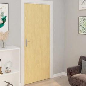 Autocolante para porta 2 pcs 210x90 cm PVC cor carvalho japonês