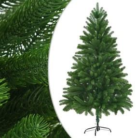 246400 vidaXL Árvore de Natal artificial agulhas realistas 210 cm verde